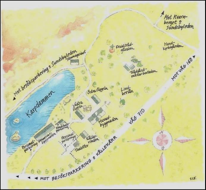 sundsby säteri karta Om Sundsby Säteri – Sundsby Vänförening sundsby säteri karta