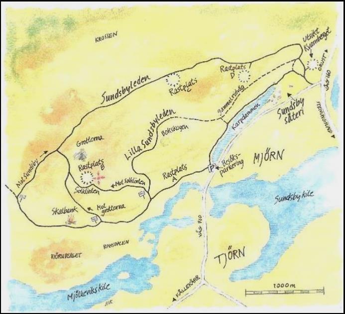 sundsby säteri karta Vandringslederna – Sundsby Vänförening sundsby säteri karta